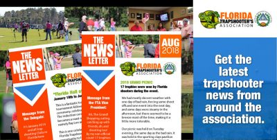 FLorida Trapshooters Assocation Newsletter AUG 2018