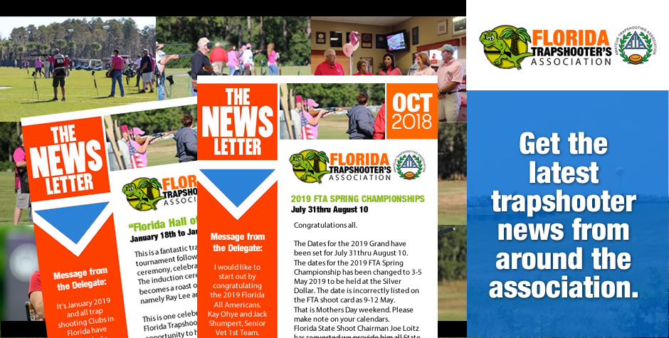 FLorida Trapshooters Assocation Newsletter OCT 2018
